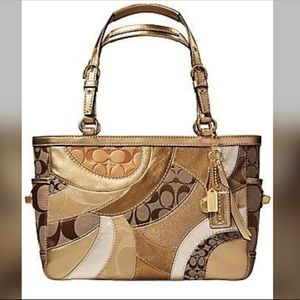 Gallery Patchwork East West Mosaic Tote No: 12740